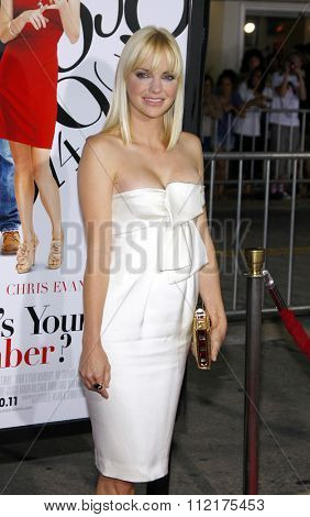 WESTWOOD, CALIFORNIA - September 19, 2011. Anna Faris at the Los Angeles premiere of