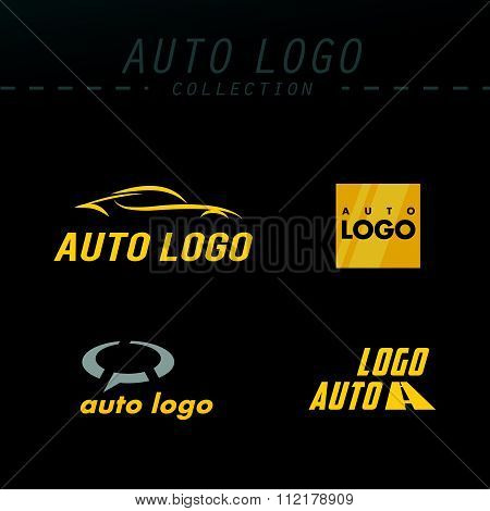 Vector auto logo design.
