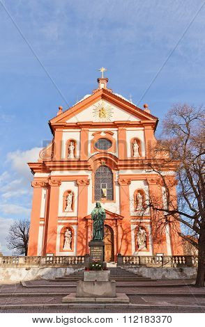Church Of Assumption Of Mary (1623) In Stara Boleslav, Czech