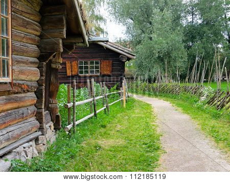 Norwegian ethnographic village