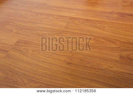 Wood Laminate Floor Varnish Decorated In Home