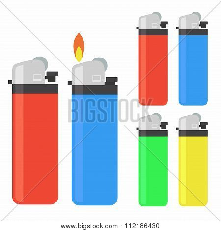 Lighter icon set
