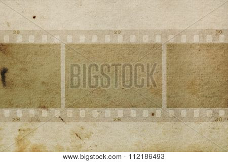 Film Frames Grungy Paper