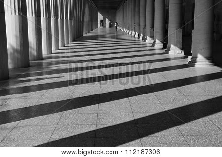 Stoa Attalos Light And Shadow