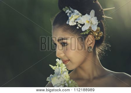 Beautiful Ethnic Lady