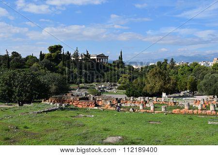 Ancient Agora Archaeological Site