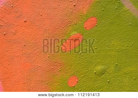 Spray Painted Wall Texture