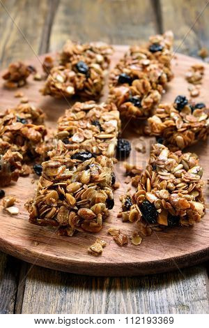 Homemade Granola Pieces