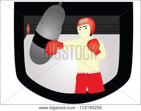 the boxer man
