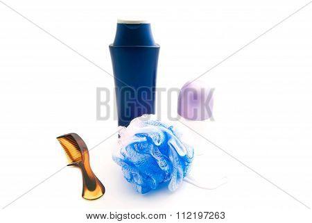 Deodorant, Comb, Wisp And Shampoo