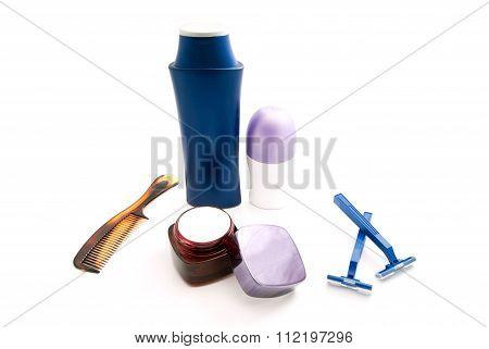 Razors, Deodorant And Shampoo