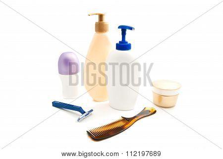 Deodorant, Gel, Cream And Razor