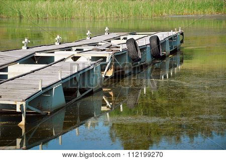 Mooring For Motor Boats