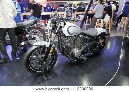 Bangkok - December 11 : Yamaha Bolt  Motorcycle On Display At The Motor Expo 2015 On December 11, 20