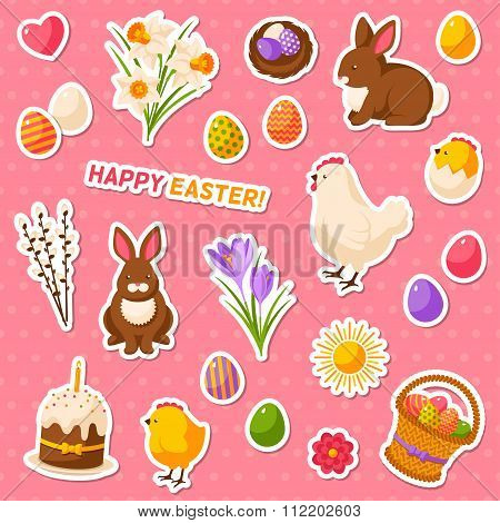 Easter scrapbook set