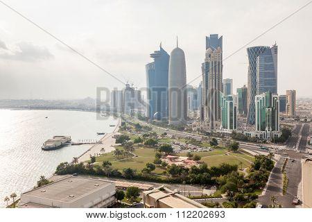 Doha Downtown, Qatar