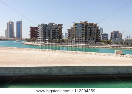 New Residential Area In Manabma, Bahrain