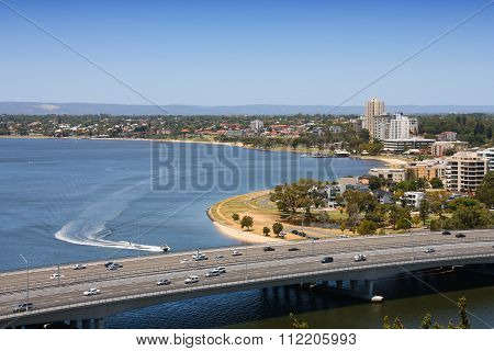 Perth - Swan River Bridge
