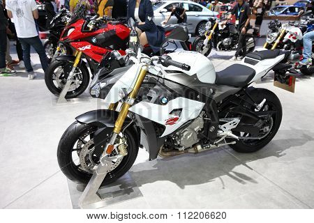 Bangkok - December 11 : Bmw S 1000 R Motorcycle On Display At The Motor Expo 2015 On December 11, 20