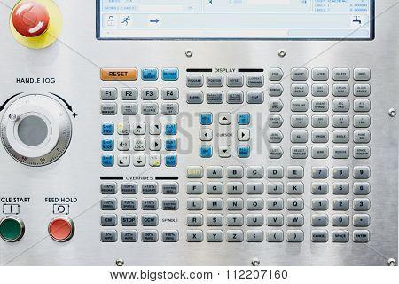 Control Panel Cnc