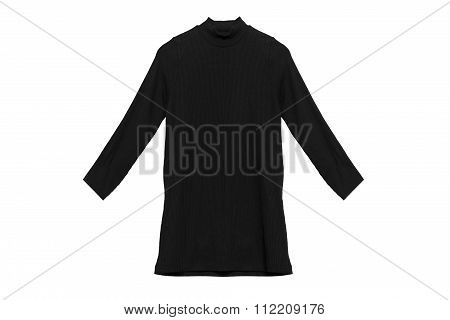 Black Pullover Isolated