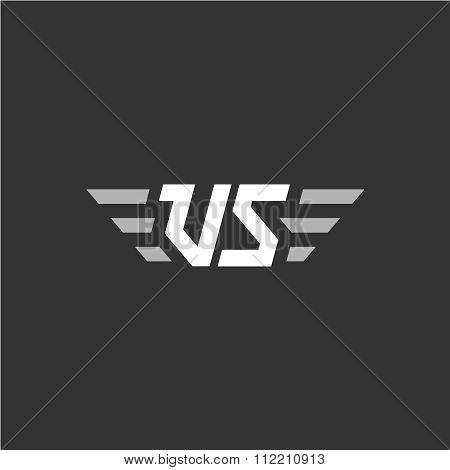 Vs Versus Letters Abbreviation Sign