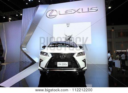 Bangkok - December 11: Lexus Rx 200T Car On Display At The Motor Expo 2015 On December 11, 2015 In B