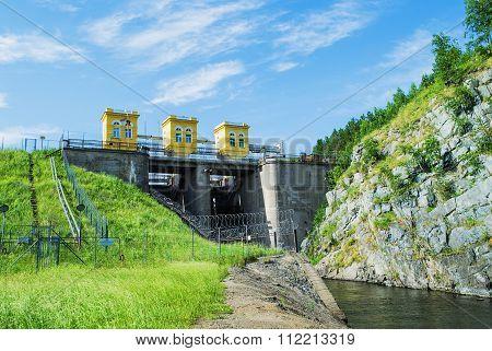 The Dam On The Beloyarsk Reservoir