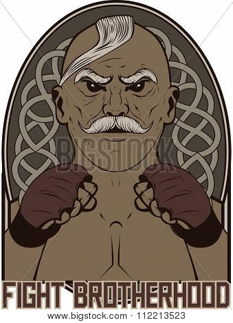 Fighter mascot