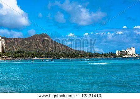 Diamond Head in Oahu, Hawaii