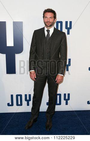 NEW YORK-DEC 13: Actor Bradley Cooper attends the