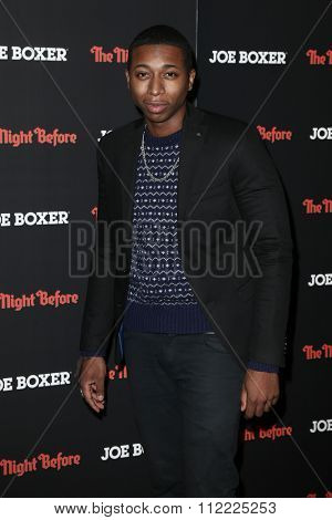 NEW YORK-NOV 16: Actor Ty Hickson attends the New York screening of Columbia Pictures'
