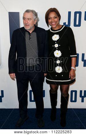 NEW YORK-DEC 13: Actor Robert De Niro (L) and wife Grace Hightower attend the