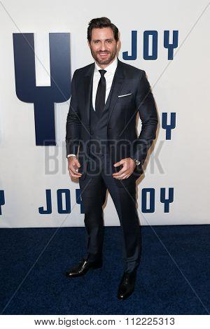 NEW YORK-DEC 13: Actor Edgar Ramirez attends the