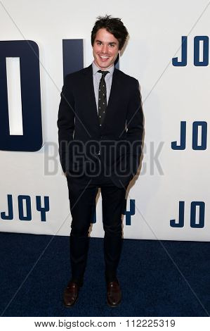 NEW YORK-DEC 13: Actor Thomas Matthews attends the