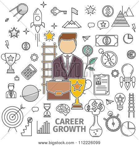 Concept Career Growth