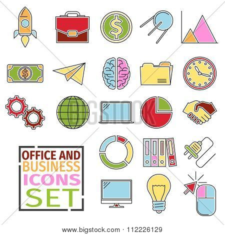 d Icons office