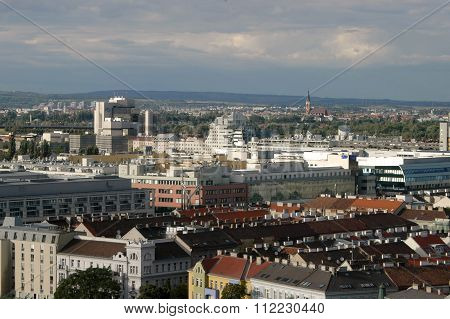 A View Of Vienna And Its Architecture - Austria