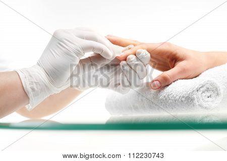 Nail polish remover, manicure