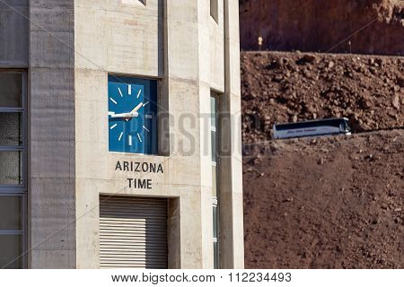 Hoover Dams Arizona clock