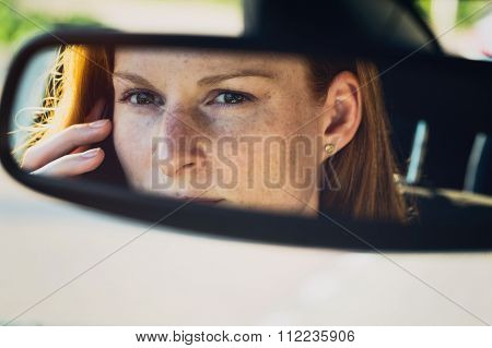 Car Driver On The Phone