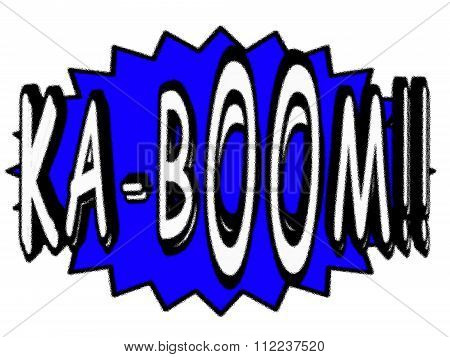 Cartoon KA-BOOM