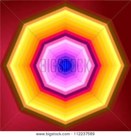 Hypnotic polygon