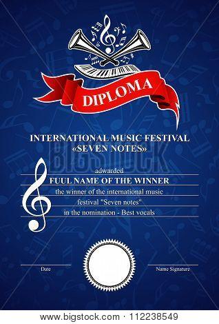 Vertical Musical Diploma