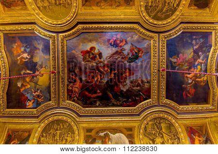 Salon de Mercure, Palace of Versailles, Paris, France