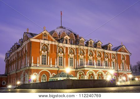Seventeenth-century Petrovsky Palace In Moscow. Russia