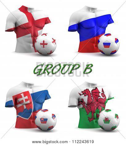 Group B European Football 2016
