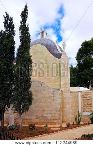 Christian chapel. Mount of Olives in East Jerusalem, Israel