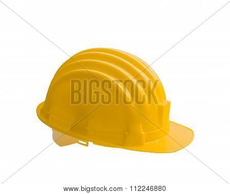Yellow Safety Helmet Construction
