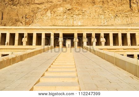 The Hatshepsut Temple Staircase